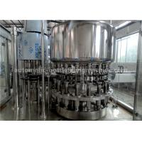 China PLC Control Glass Milk Bottle Filling Machine 6000BPH 500ML For Beverage Factory on sale