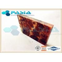 China Shipbuilding Industry Honeycomb Backed Stone Marble Composite Panels Waterproof wholesale