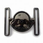 China Shiny Buckle with Diamond, Oeko-Tex 100/CPSIA Certified, Measures 6cm wholesale