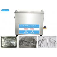 China Stainless Steel Medical Ultrasonic Cleaner For Medical Instrument 15L 0.3KW wholesale