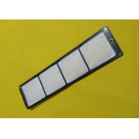 China Auto Cabin Air Filter Replacement Excavator Air Conditioning Spare Parts 4S00687 310 Mm Length Activate Long Durable on sale