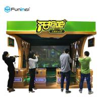 China Shooting Game Virtual Reality Machine 220V VR Publish Game Equipment Exciting Gun wholesale