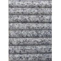 China Light Grey / White Granite Stair Treads , Exterior Stone Stair Treads 120 X 33 X 3cm​ wholesale