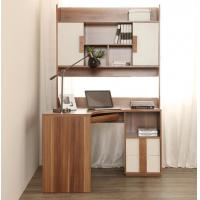 China Recycled Modern Home Furniture Computer Corner Desk With Hutch Non Toxic wholesale