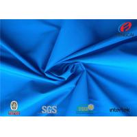 China Waterproof Polyester Knit Fabric , TPU Coated Fabric For Garment wholesale