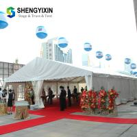China Jiangsu Wuxi factory sale white pvc party tent aluminum frame tent for restaurant/Exhibition/Show on sale