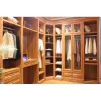 China Melamine Bedroom Furniture Set Modern Wardrobe with moisture - proof wholesale