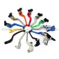Aluminum Motorcycle Brake Clutch Lever Adjustable Long Shorty Folding Levers