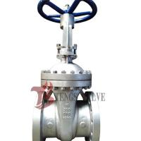 China Cast Stainless Steel Gate Valve A351 CF8 SS304 300LB With Bolted Bonnet Design on sale