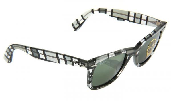 ray sunglasses  ray ban wayfarer gray