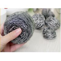 China Household Cleaning Metal Scouring Ball Helical Structure Not Easy To Drop Crumbs wholesale