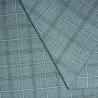 China Le plaid bi-directionnel de plaine du bout droit 63T/33R/4SP a teint le textile tissé avec de l'argent pour l'habillement de femmes wholesale