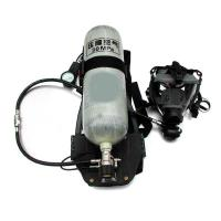 China SCBA air breathing apparatus with carbon fiber or steel air cylinder wholesale