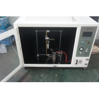 China Computerized & Self-ignition horizontal flammability tester in accordance with UL 94 wholesale