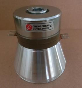 Buy cheap Prueba de alta frecuencia del transductor del ultrasonido de la limpieza piezoeléctrica en Laborary from wholesalers