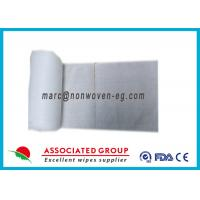China Spunlace Nonwoven Food Service Wipes 65% Rhyno Non Woven Fabric on sale
