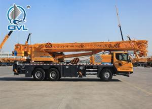 China New telescopic boom crane CVXCT35 56.8m Boom Length 35t Pick Up Mobile Crane Truck Cheap Price wholesale