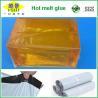 China Pegamento caliente del derretimiento de EVA del embalaje/adherencia fuerte del derretimiento del bloque caliente del pegamento wholesale