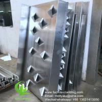 China Metal aluminum wall facade for building decoration facade cladding wholesale