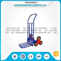 China Six Wheels Hand Truck Dolly HT1312 , Metal Stair Climbing Hand Truck 75kg Load wholesale