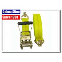China 2'' Atv Recovery Strap Accessories , Tie Down Strap Buckle Parts With Ratchet wholesale