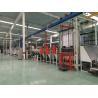 China Frequency Control Electrostatic Flocking , Flock Printing Machine 5 - 25m / Min wholesale