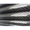 China カスタマイズされたODカーボン繊維の棒、3Kあや織り織り方はカーボン繊維の管を塗りました wholesale