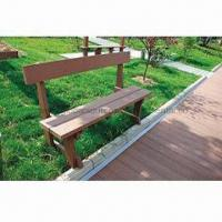 China Outdoor Park Benches with Look of Natural Wood wholesale