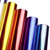 China Multi Colors Hot Stamping Foil Rolls for Plastics Glass Metallic Products wholesale