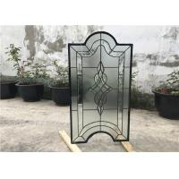 China Tinted Custom Cabinet Doors Glass , Clear Decorative Glass Inserts For Cabinet Doors wholesale