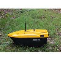 China DEVC-113 remote control fishing bait boat yellow autopilot rc model fishing tackle wholesale
