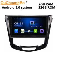 China Ouchuangbo car gps radio bluetooth stereo android 8.0 for Nissan X-Trail 2014 support USB SWC wifi dual zone on sale