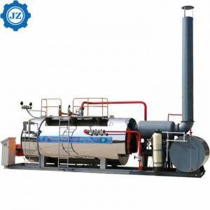 China Steam Capacity 1ton, 2ton, 3ton Industrial Gas Oil Fired Packaged Steam Boiler Price List wholesale