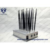 China Multi-Band All Frequency 2G 3G 4G LTE 4G Wimax Phone Blocker WiFi GPS VHF UHF  Signal Jammer wholesale