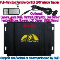 GPS107B All-In-One AVL GPS Vehicle Tracker W/ Photo Snapshot, Remote-Control & 2-Way talk