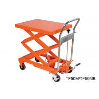 Buy cheap Compact Structure Mobile Hydraulic Lifting Table With Electrical Controlling from wholesalers