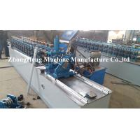 China 0.32Mm Thickness Light Keel Stud And Track Roll Forming Machine With None Stop Cutting Device wholesale
