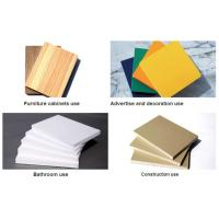 Buy cheap High Density White 19mm Sintra PVC Forex Sheet For Upholstery from wholesalers