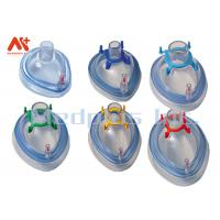 China PVC Anesthesia Breathing Face Mask Medical Level Transparent Air-tightness wholesale