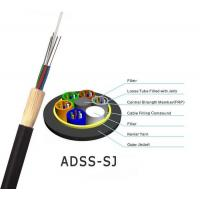 Buy cheap All-Dielectric self-supporting aerial ADSS fiber optic cable ADSS CABLE with 100m 200m span from wholesalers