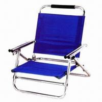 China Camping Chair with Aluminum Tube Frame, Made of 600D Oxford, Measures 52 x 58 x 69cm wholesale