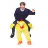 China Traje del pollo del montar a caballo del poliéster/del hombre de Spandex Halloween con el logotipo del bordado wholesale