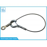 China Customized Stainless Steel Wire Rope Sling With Eye - Hook Terminal on sale