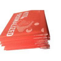 China Red Custom Printed Kraft Bubble Mailer , Mailing Bubble  Envelopes on sale