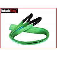 China 2ton Approved Color Code Lifting Sling Flat Webbing Lifting Slings Safety wholesale