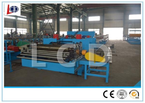 Quality High Speed Sheet Metal Roll Forming Machines Servo Controlled For Cable Tray for sale