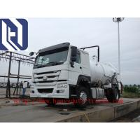 China Sinotruk SWZ 6*4 Water Tanker / Oil Tanker Truck with EURO III Emission on sale