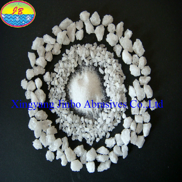Quality Steel Industrial Refractory Material White Fused Aluminum Oxide for sale