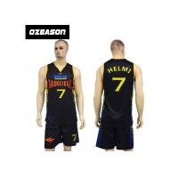 China Cheap Custom Dry Fit Lycra Basketball Uniforms For Adults And Kids wholesale