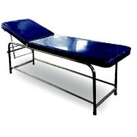 China Stainless Steel Medical Examination Couch Blue Color Legs Fitted With PVC Stumps wholesale